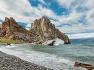 시베리아 바이칼호 올혼섬 부르한곶 샤먼 바위 - Siberia Baikal Lake Olkon Island Cape Burkhan Shamanka Rock