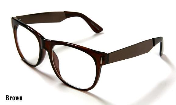 Black Frame Glasses With Gold : New Black&Gold Frame Eye Glasses Gold Metal Temples ...