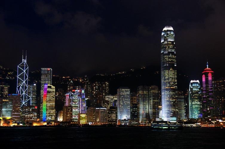홍콩섬 야경
