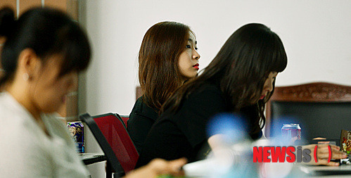 Yuna Kim attends the 2014 figure skating judges & coaches seminar of the KSU