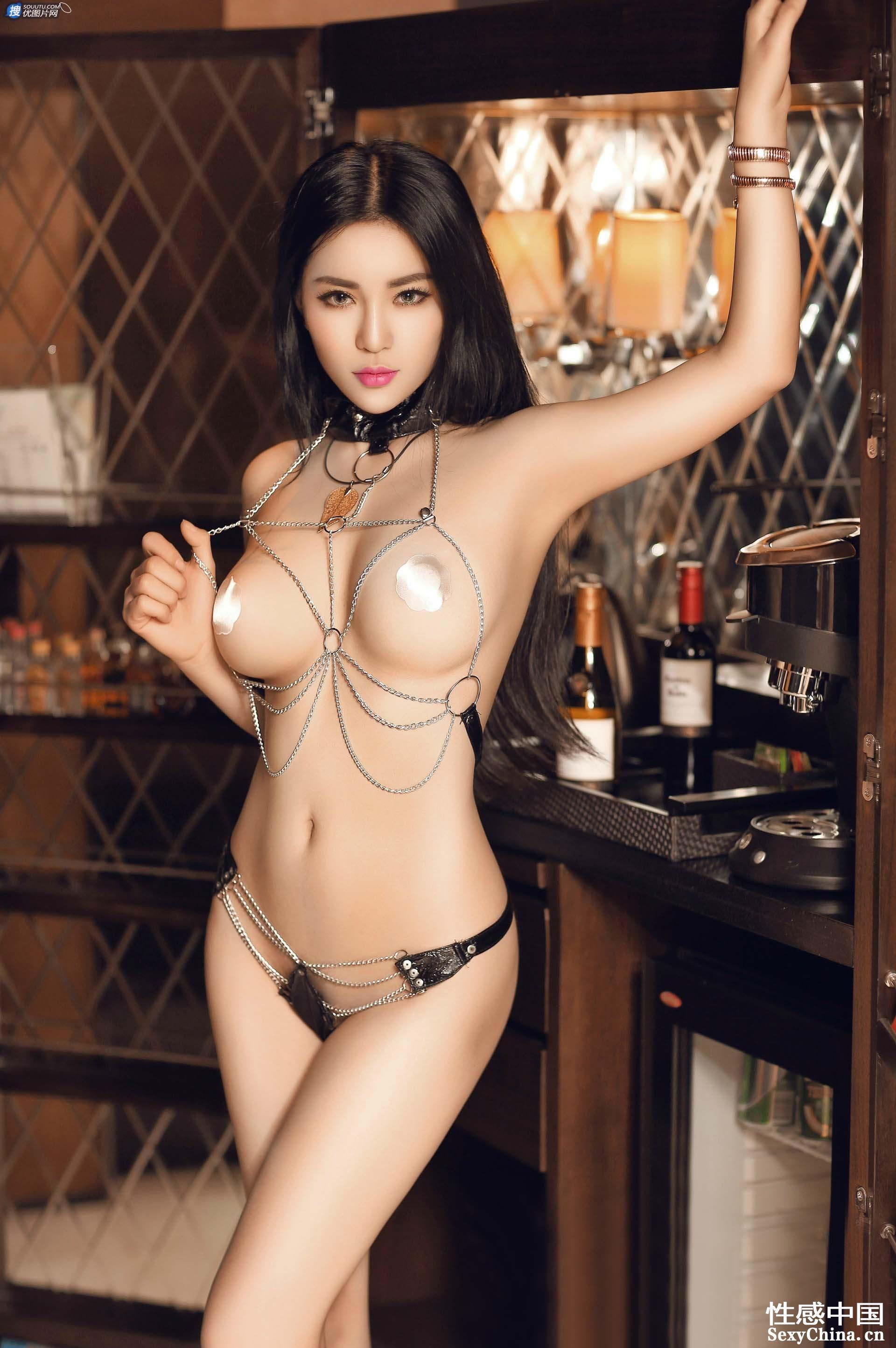 hot intense Chinese girl